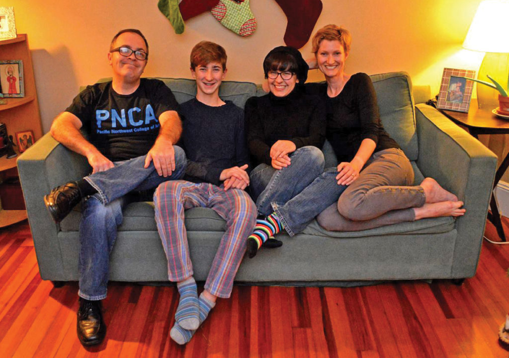 The Lensch family.