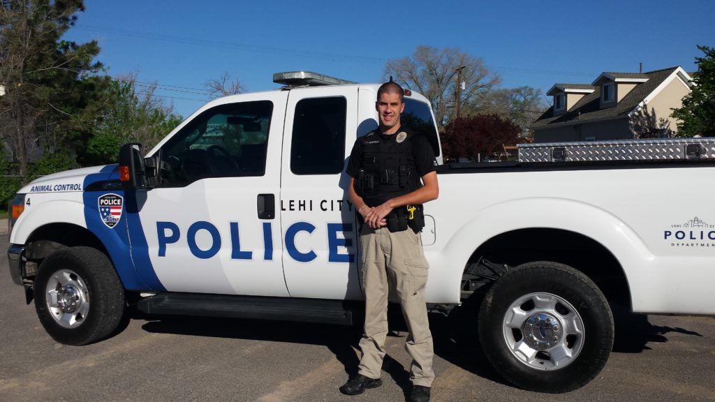 Tyler J. Peterson, Lehi Animal Control officer.