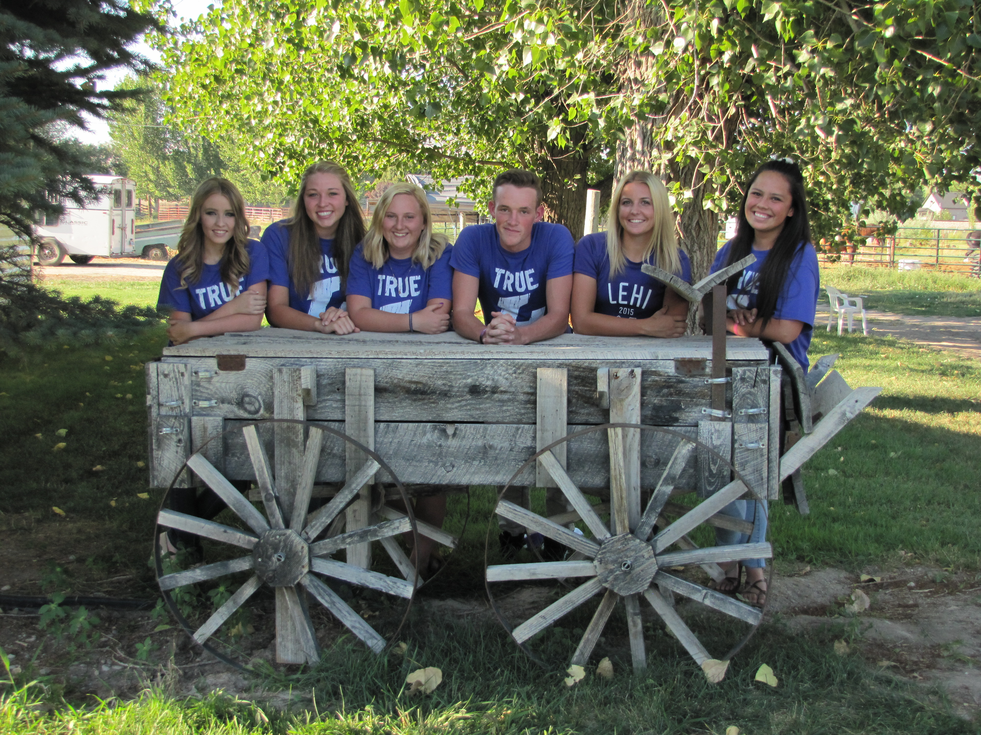 LHS Studentbody officers Aug 18