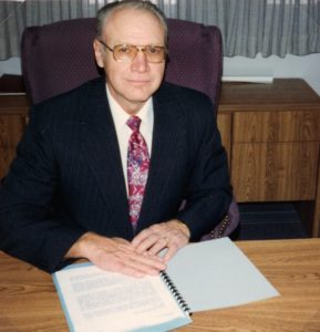 Ron Smith when he was the Mayor of Lehi City.