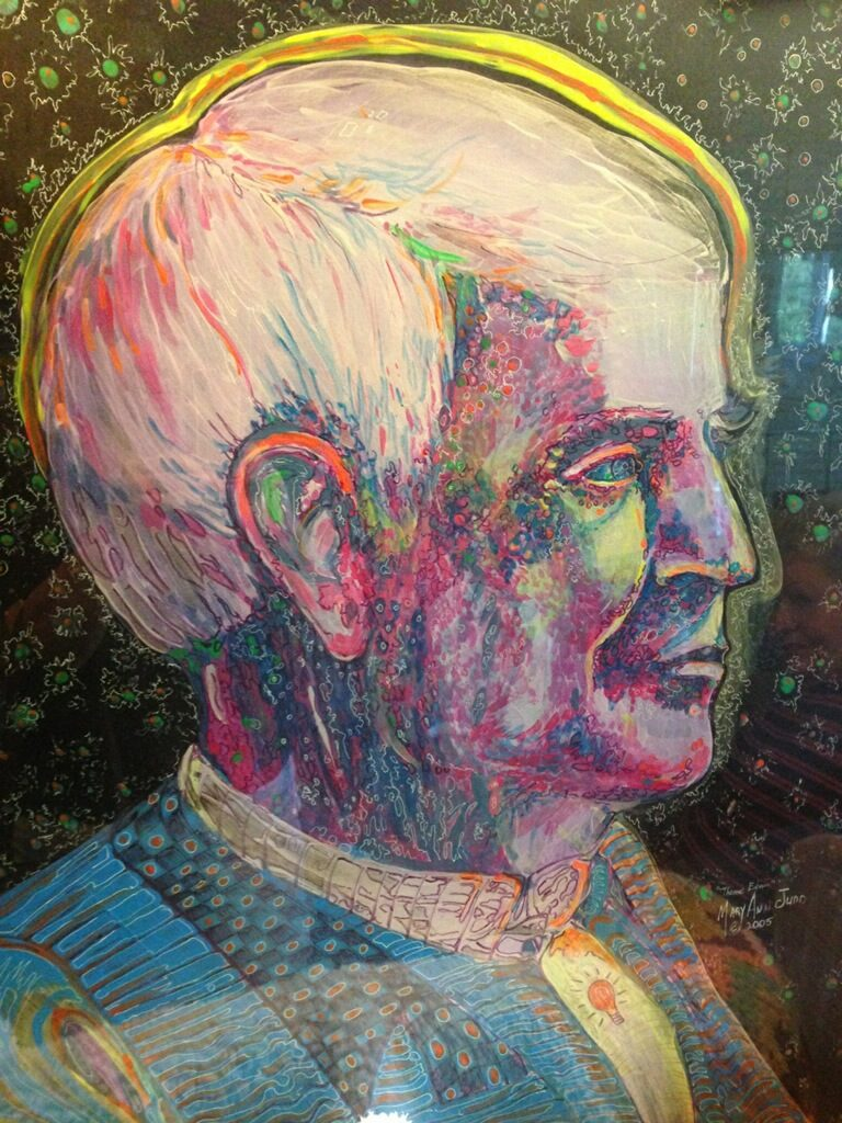 """Thomas Edison"" by Mary Ann Judd Johnson."