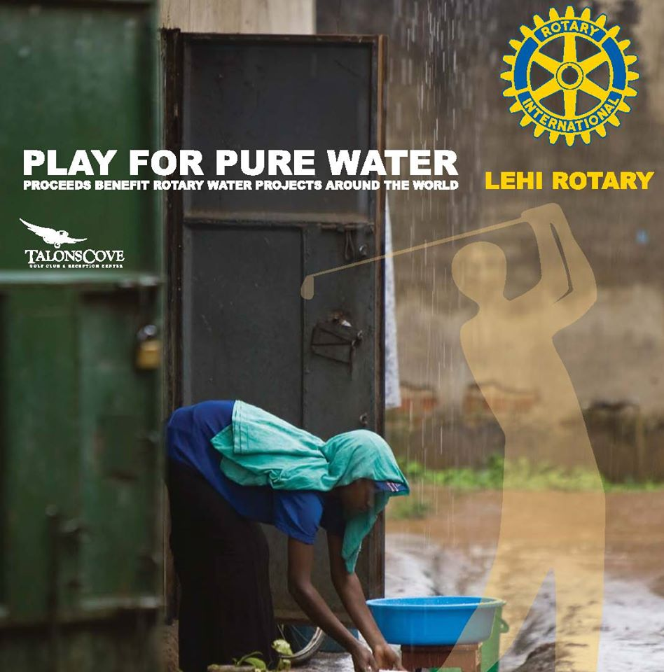 rotary club play for pure water