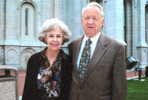 Mary and Rex Price in 2008.