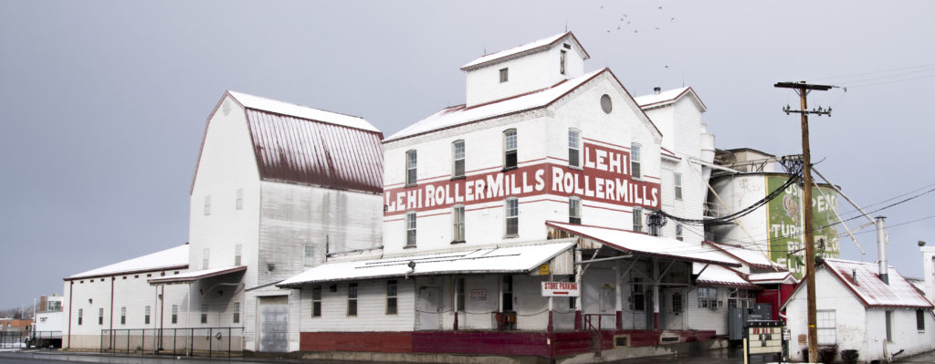 Lehi Roller Mills in the winter. Photo: Josh Hansen