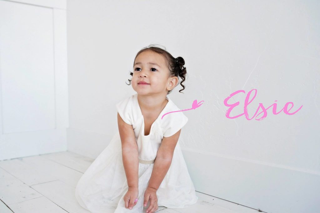 Elsie Mahe, three year old daughter of Reno and Sunny Mahe passed away on Tuesday, November 29.