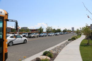Traffic snarls have become commonplace in Lehi on many roads.