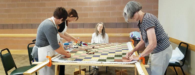 Seniors-Quilting