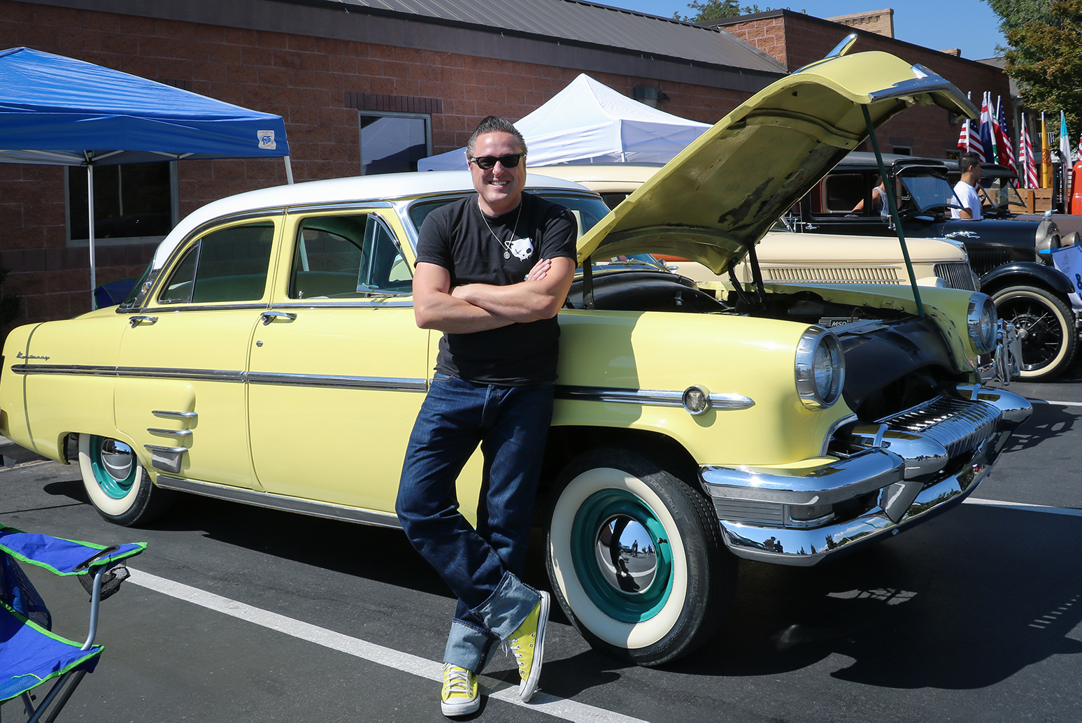 WK-pic3 Heritage Days Car Show – Lehi resident Aaron Watson shows off his ride (1)